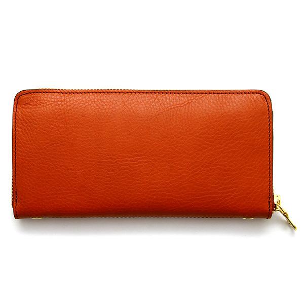 ba31704bd68b サイズ:W19×H9.7×D2.5(cm); 重量:約175g; 収納力抜群のシンプルフォルムのラウンドファスナー長財布。