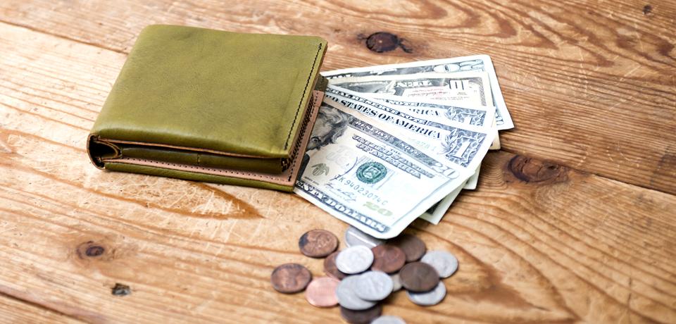 折財布 見出し
